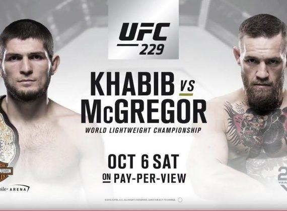 McGregor vs Khahib- zbývá ani ne měsíc do zápasu!