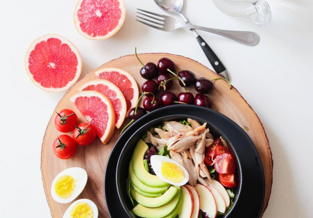 příjem jídla v průběhu dne