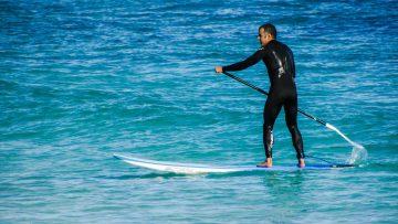 Paddleboarding – pomocník při udržování kondice